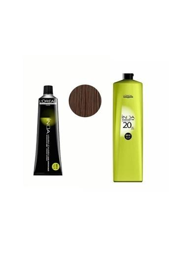 L'oreal Professionnel Loreal Inoa No:6,1 Saç Boyası 60 Gr+Oksidan 20 Vol. %6 1000 Ml Renksiz